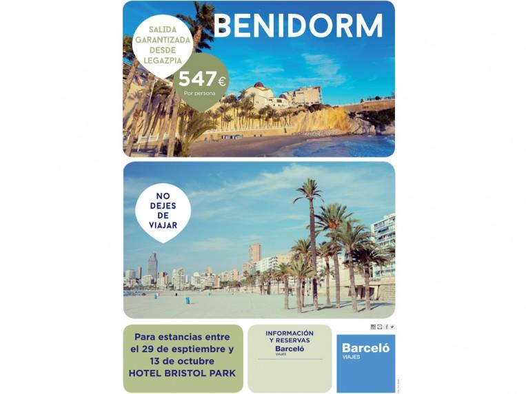 Cartelerias viajes Benidorm