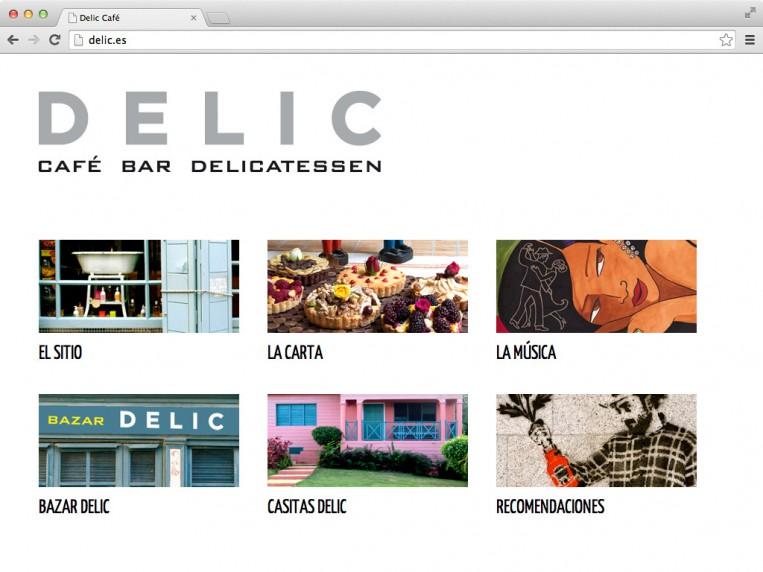 Café Delic - index