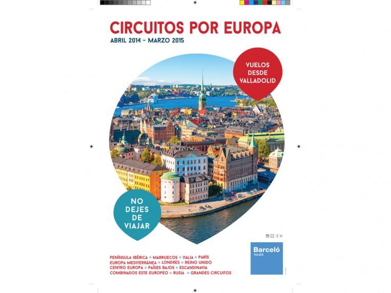 Portada, circuitos por Europa