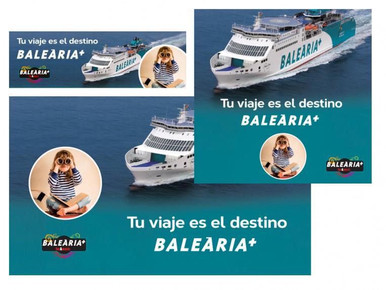 Banners y landing para Balearia