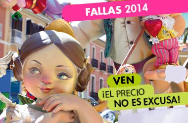 """Banner Publicitario """"Fallas 2014"""""""
