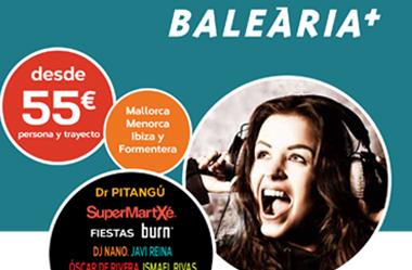 Prensa para Balearia