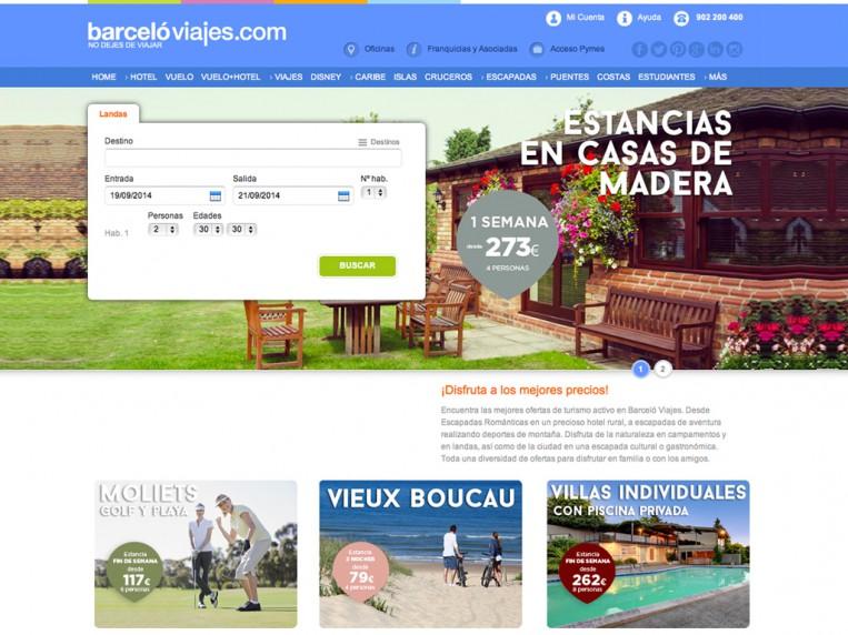 Barceló viajes, escaparates escapadas web-barcelo-landas Captura-de-pantalla-2014-09-12