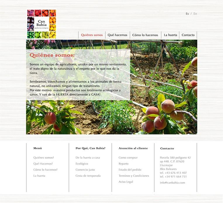 Ca´n Bahía - Productos ecológicos