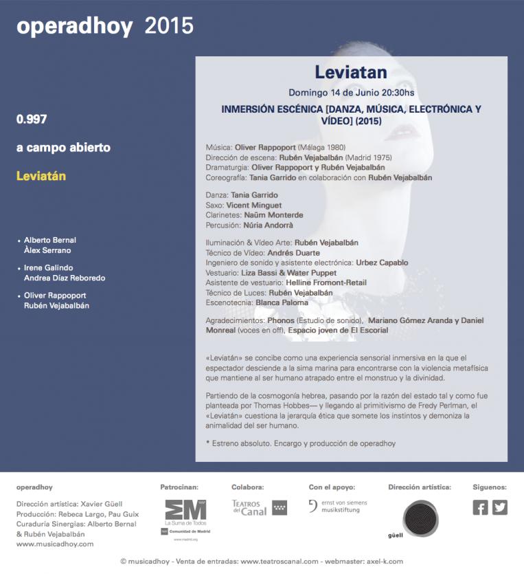 operadhoy 2015