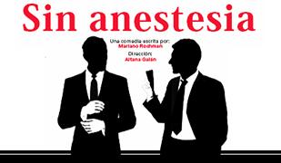 "Cartel para Obra de Teatro ""Sin ansetesia"""