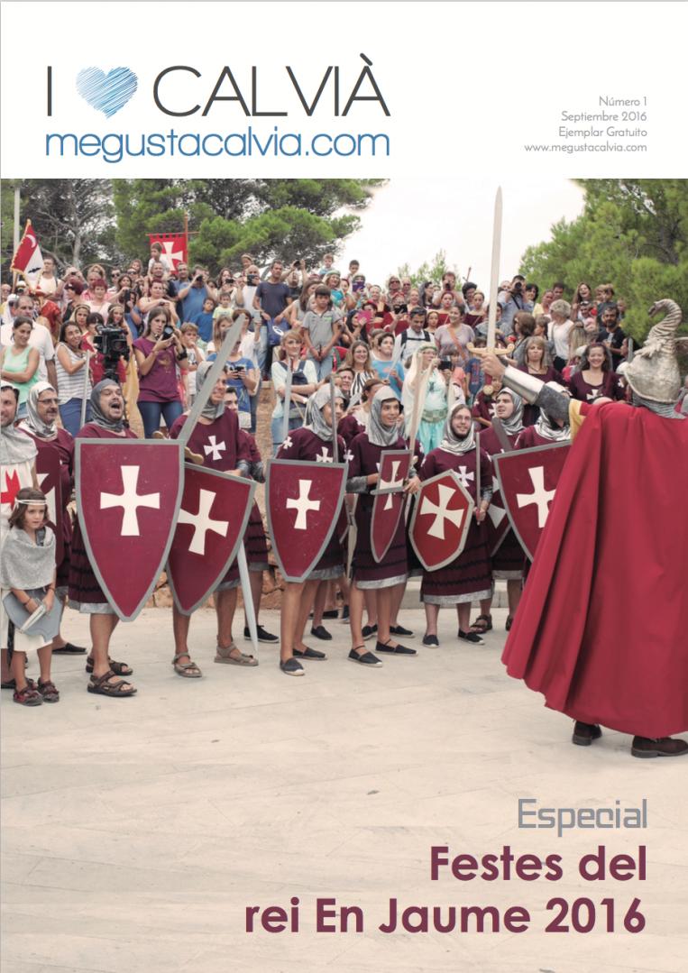 "Revista ""Especial rei En Jaume"" Portada"